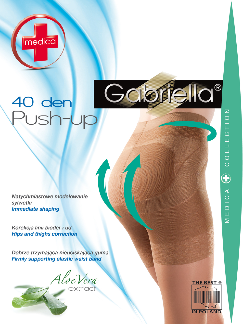 MEDICA PUSH-UP 40 DEN